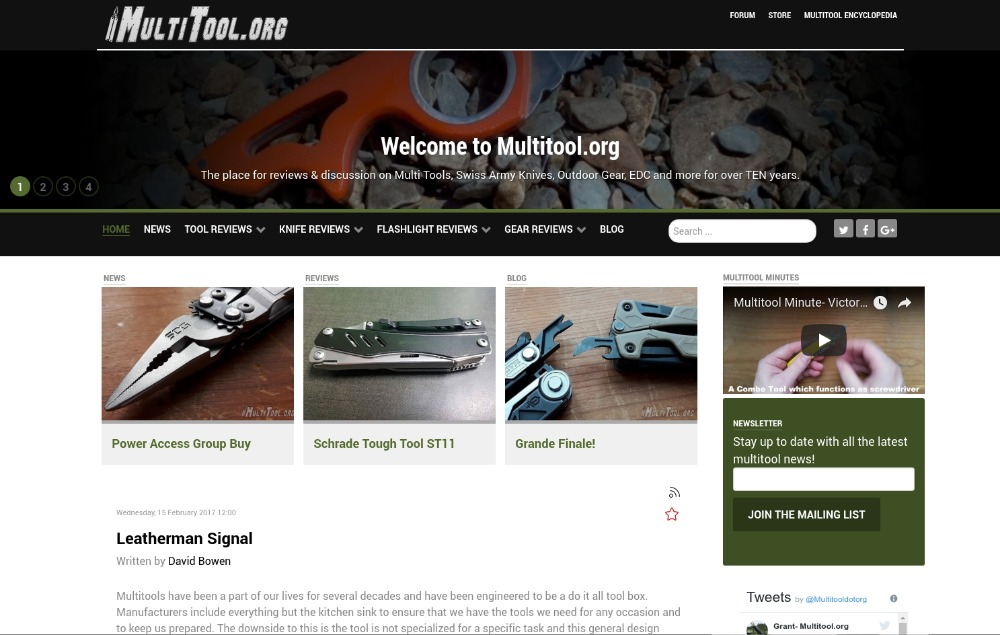 Multitool.org 2017